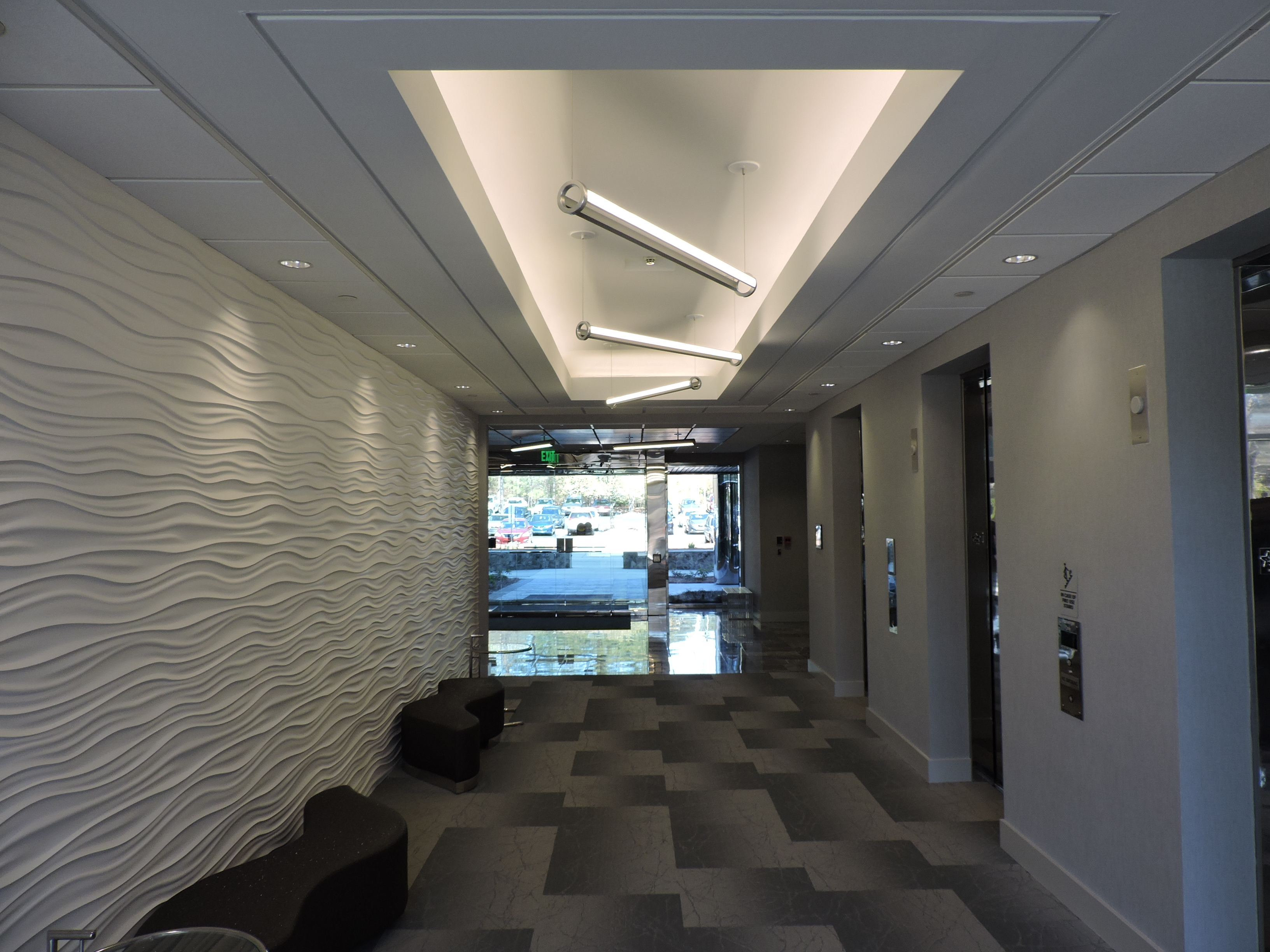 Concourse Office Building Lobby And Hardscape Renovation